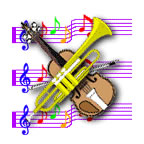 music-violintrumpet